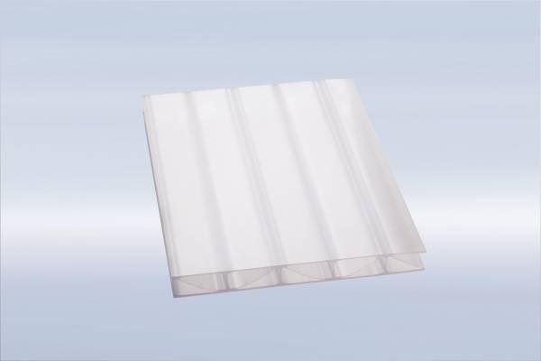 klar Polycarbonat ECO Stegplatte 16mm 16//20//3 ECO 1200mm x 4000mm Steg 3-Fach