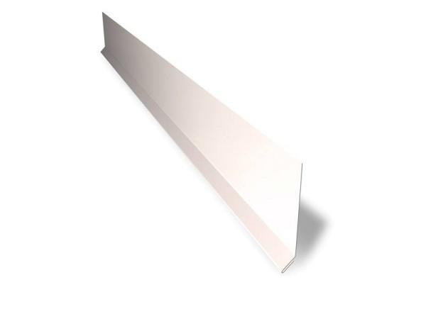 Seitliches Ortgangblech 185 mm – Länge 2 m – 25 µm