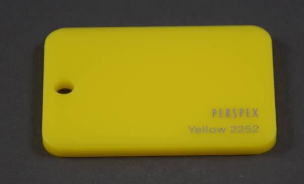 Acrylglas GS gelb 2252 3mm