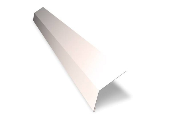Oberes Traufblech 70 x 125 mm – Länge 2m – 25 µm
