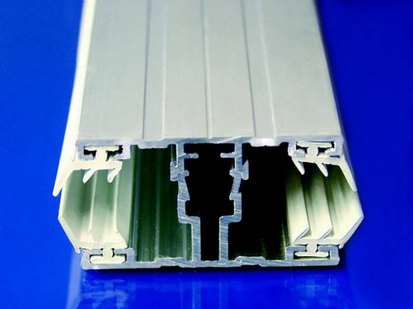Alu / Alu Komplettsystem für 8-10mm Stegplatten