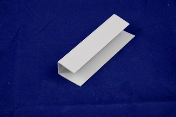 Endprofil für Wand- und Deckenpaneele aus PVC - für 16mm Plattenstärke