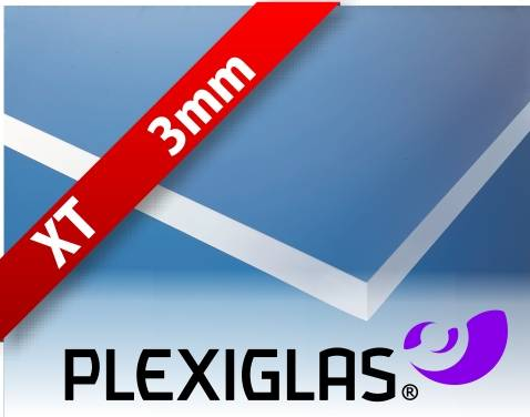Plexiglas® XT transparent 3mm