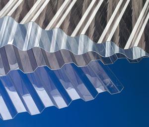 Berühmt Lichtdurchlässige Wellplatten aus Acrylglas, Polycarbonat, PVC IN19