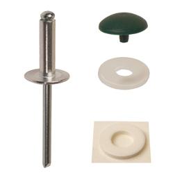 Montagesatz Blindniete für Kronoart und Kronoplan Schichtstoffplatten
