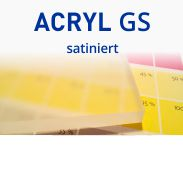 Acryl GS satiniert
