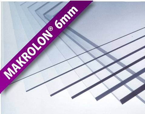 Makrolon® UV transparent 6mm