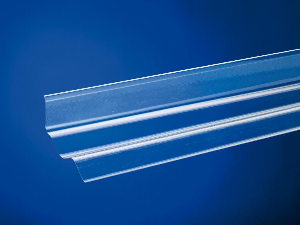 lichtplatten wellplatten maueranschluss sinus 76 18 pvc acrylshop24 stegplatten mehr. Black Bedroom Furniture Sets. Home Design Ideas