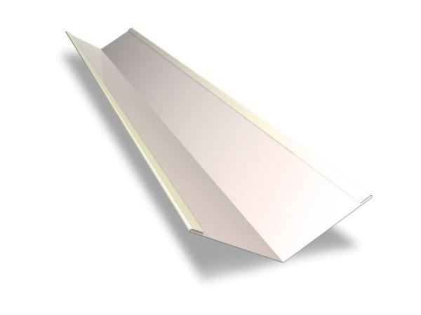 Kehlrinne 195 x 195 mm – Länge 2 m – 25 µm Polyester