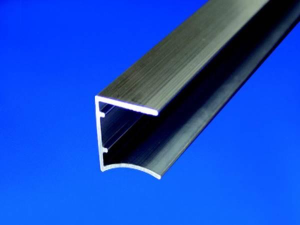alu abschlussprofil wei beschichtet f r 16mm stegplatten acrylshop24 stegplatten mehr. Black Bedroom Furniture Sets. Home Design Ideas