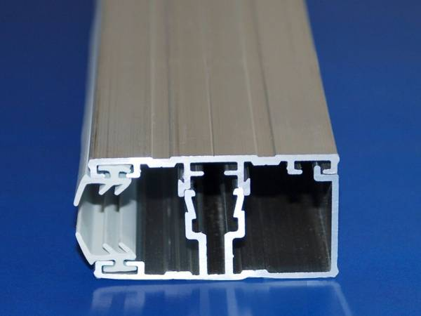 Alu / Alu Randkomplettsystem für 8-10mm Stegplatten
