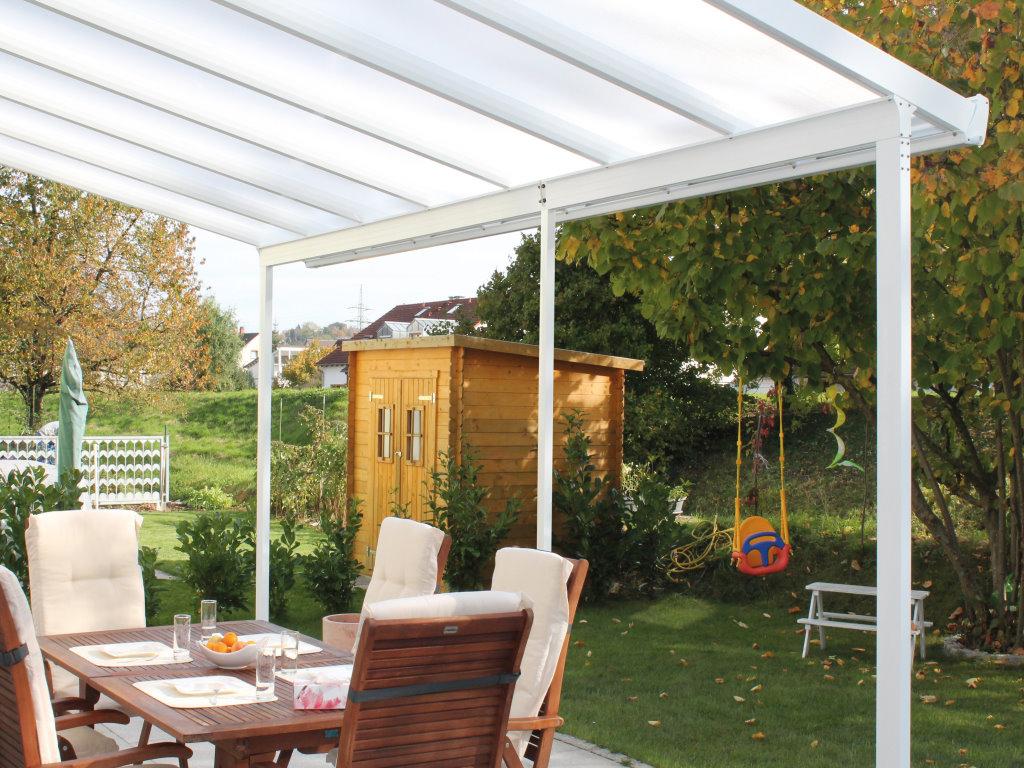 Alu Terrassendach Bausatz ~ Alu terrassendach bausatz komplettsets acrylshop24 stegplatten