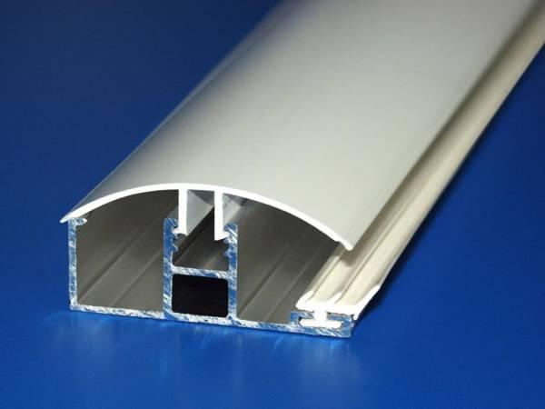 Alu / PVC Komplettsystem Randprofil für 8 - 10mm